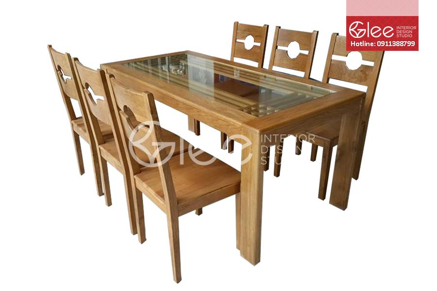 bộ bàn ăn đẹp, bo ban an dep